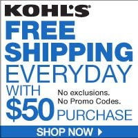 Kohls Free Shipping Code: Mvc Free Shipping Code No Minimum. 23, likes · talking about this. Lastest Kohls coupon codes 30% OFF with Kohl's charge card with free shipping code no minimum codes See More. Community See All. 23, people like this. ⚡ Use this code to save 15% OFF $ + FREE Shipping over $50 at Kohls.