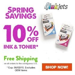 4inkjets coupon 20% off